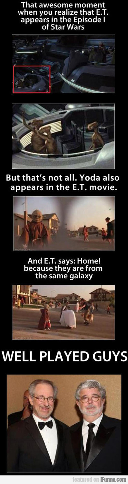 That Awesome Moment When You Realize That E.t.