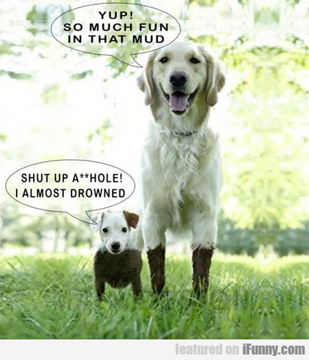 yup! there's so much fun in that mud!
