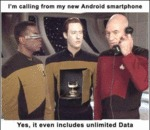 I'm Calling From My New Android Smartphone