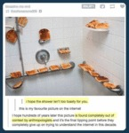 I Hope The Shower Isn't Too Toasty For You.