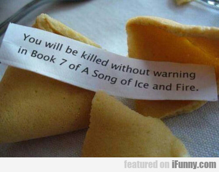 you will be killed without warning in book 7