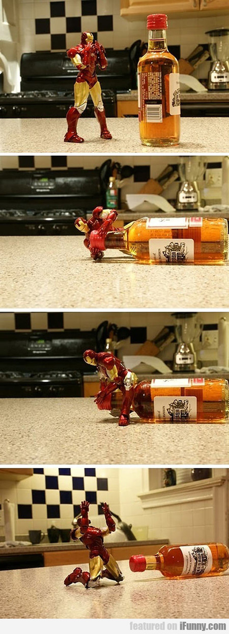 The Correct Way To Play With Your Iron Man Toys