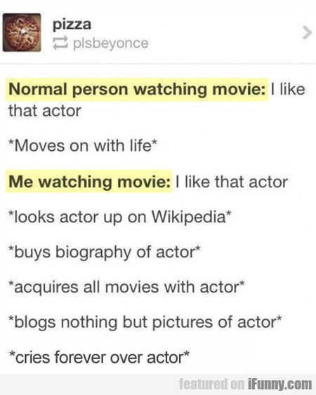 I like that actor