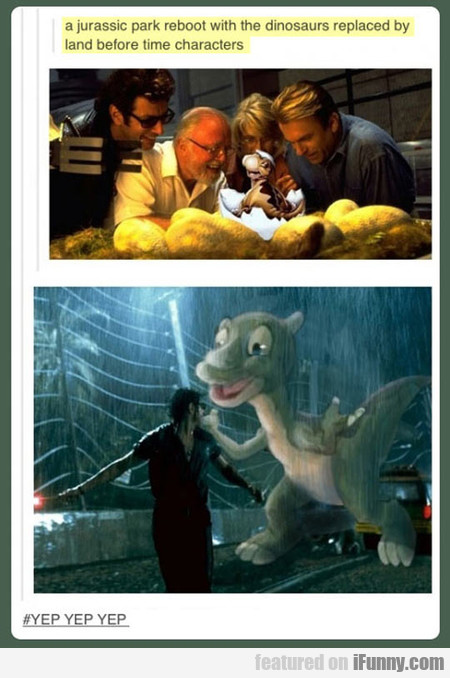 A Jurassic Park Reboot With The Dinosaurs Replaced