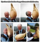 Look How Happy This Man Is With His Onion