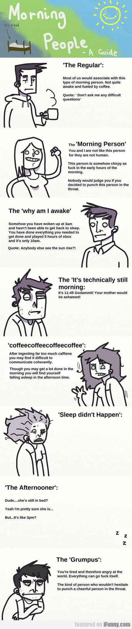Types Of Morning People