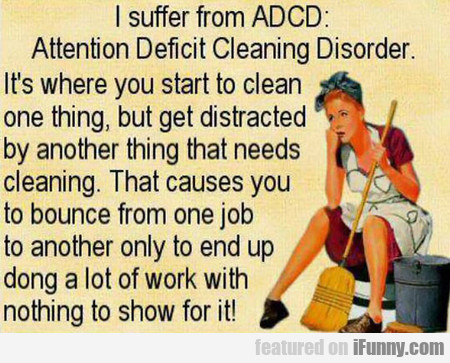 I Suffer From Adcd