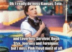 I Really Do Miss Kansas, Toto...