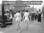In 1937, Two Women Wore Shorts Out In Public For..