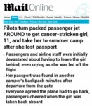 Pilots Turn Packed Passenger Jet