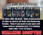 Watch All Of The Harry Potter Movies In One Day