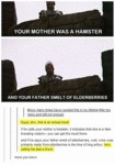 Your Mother Was A Hamster
