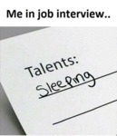 Me In Job Interview...