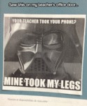 Saw This On My Teacher's Office Door