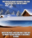 Why I Prefer The Colder Months