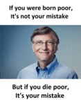 If You Die Poor, It's Your Mistake