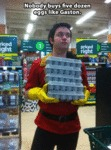 Nobody Buys Five Dozen Eggs Like Gaston