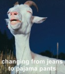 Changing From Jeans