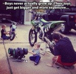 Boys Never Actually Grow Up
