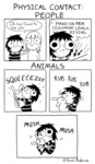 Physical Contact - People Vs. Animals