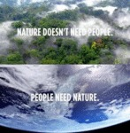 Nature Doesn't Need People