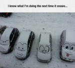 I Know What I'm Doing The Next Time It Snows...