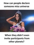 How Can You Select Miss Universe...