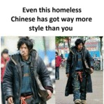 Even This Homeless Has Got Way More Style