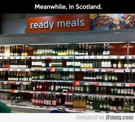 Meanwhile, In Scotland