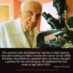 The Scientist Who Developed The Vaccine To Fight..