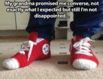 My Grandma Promised Me Converse