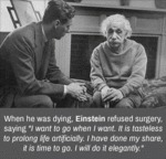 When He Was Dying, Einstein Refused Surgery