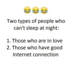 Two Types Of People Who Can't Sleep