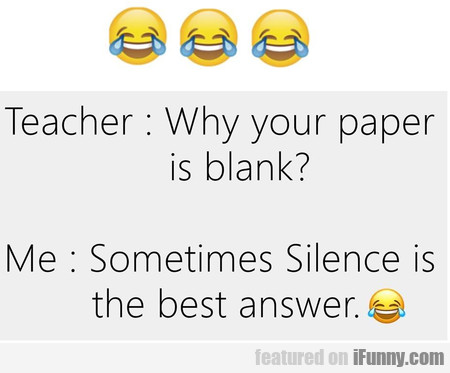 Why Your Paper Is Blank?