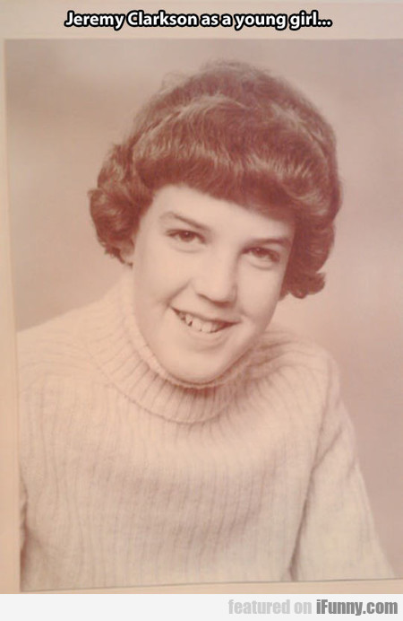 jeremy clarkson as a young girl