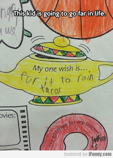 This Kid Is Going To Go Far In Life