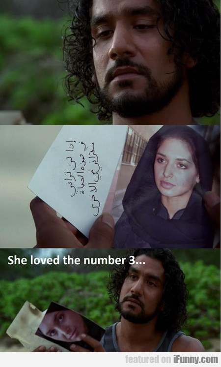 She Loved The Number 3