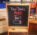 Real Books Never Dye