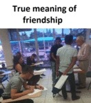 True Meaning Of Friendship