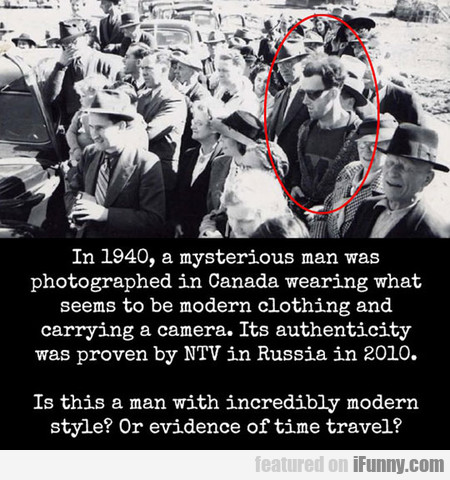 In 1940, A Mysterious Man Was Photographed In Cana