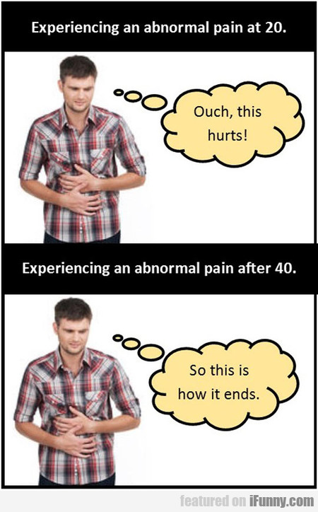 Experiencing An Abnormal Pain