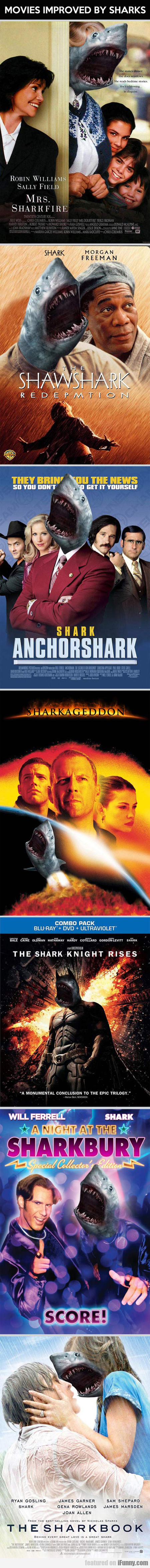 Movies Improved By Sharks - Part 1