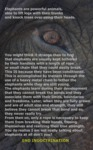 Elephants Are Powerful Animals