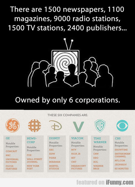 6 Corporations Control What You See