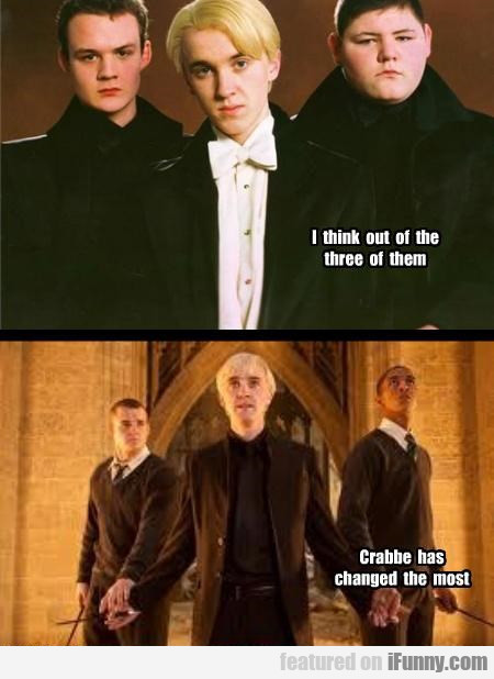 Crabbe Has Changed The Most
