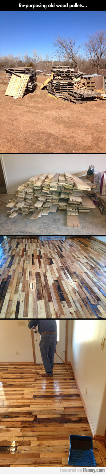 Re-purposing Old Wood Pallets...