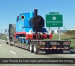 I Saw Thomas The Tank Engine Getting Kidnapped