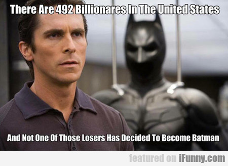 There Are 492 Billionares In The United States