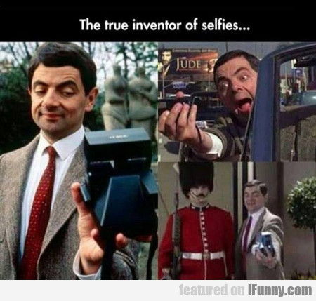 The True Inventor Of Selfies...