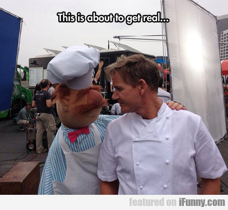 Gordon Ramsay Meets The Swedish Chef